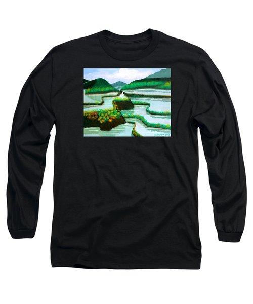 Banaue Long Sleeve T-Shirt by Cyril Maza