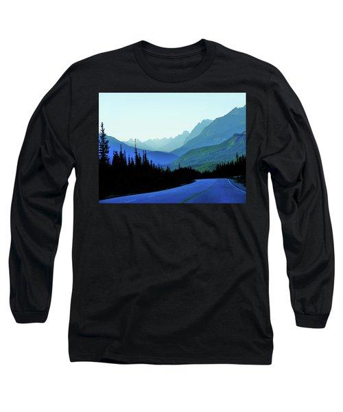 Banff Jasper Blue Long Sleeve T-Shirt