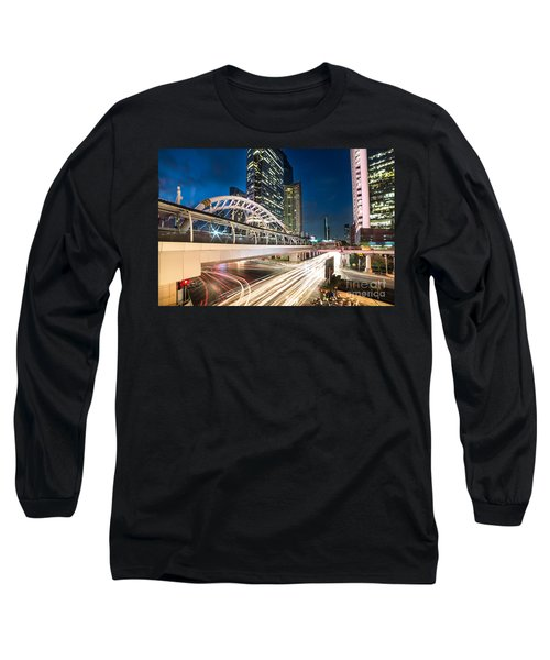 Bangkok Night Rush  Long Sleeve T-Shirt