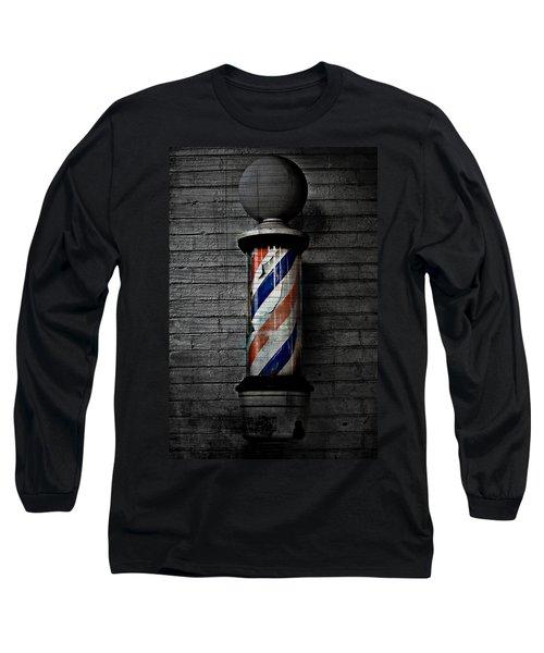 Barber Pole Blues  Long Sleeve T-Shirt