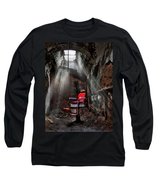 Barber Shop Long Sleeve T-Shirt
