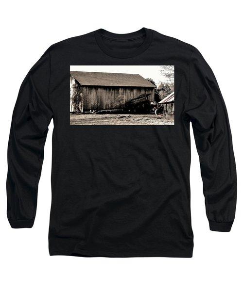 Barn And Truck Long Sleeve T-Shirt