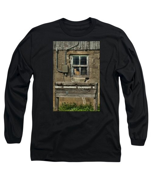 Barn Cat Long Sleeve T-Shirt