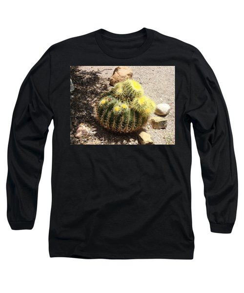 Barrel Of Cactus Needles Long Sleeve T-Shirt