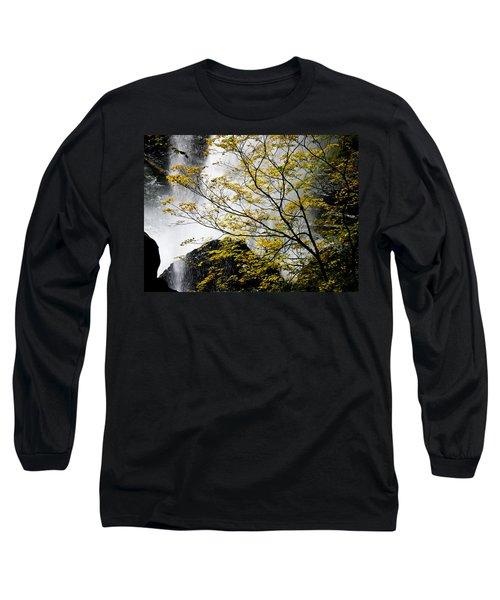 Base Of The Falls. Long Sleeve T-Shirt
