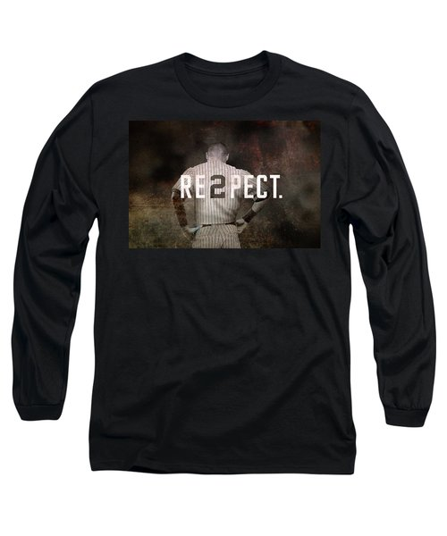 Baseball - Derek Jeter Long Sleeve T-Shirt