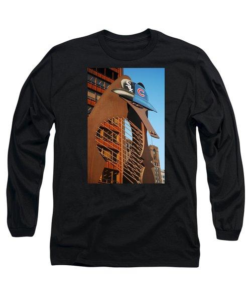 Baseball Picasso Long Sleeve T-Shirt