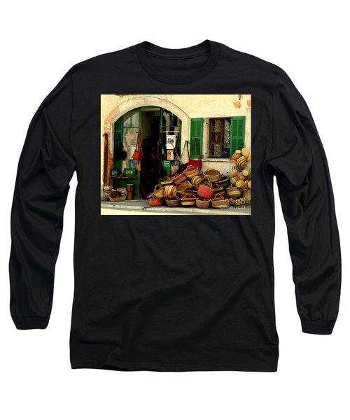 Baskets Anyone Long Sleeve T-Shirt by Lainie Wrightson