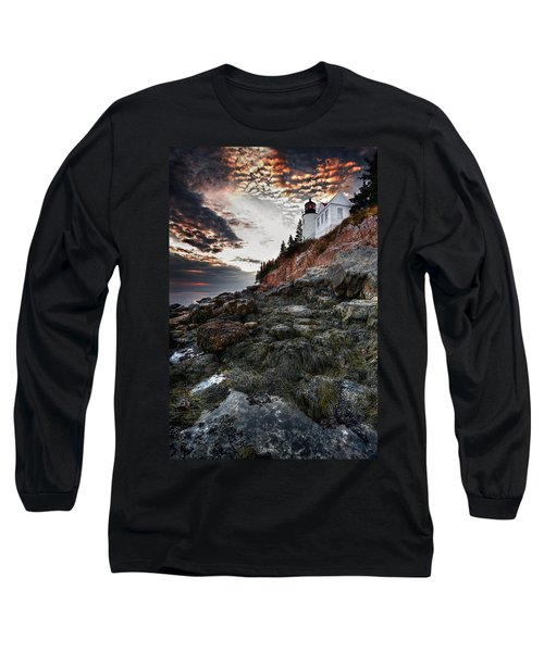 Bass Harbor Light Long Sleeve T-Shirt
