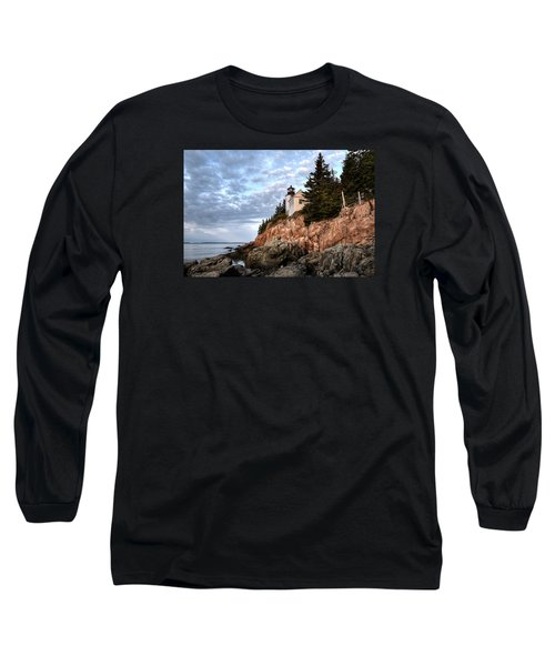 Bass Harbor Light No. 1 - Maine - Acadia Long Sleeve T-Shirt