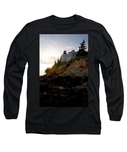 Bass Harbor Lighthouse 1 Long Sleeve T-Shirt