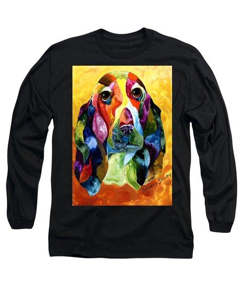 Basset Hound Blues Long Sleeve T-Shirt