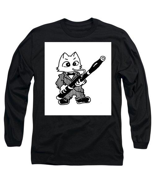 Bassoon Cat Long Sleeve T-Shirt