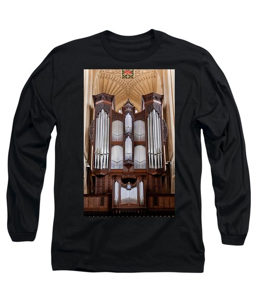 Bath Abbey Organ Long Sleeve T-Shirt