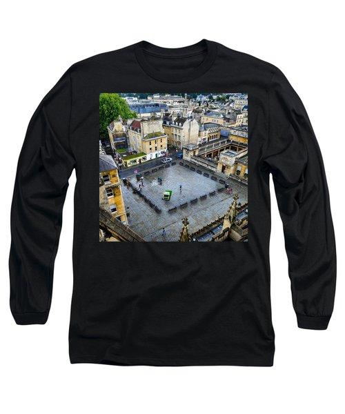 Bath Square Long Sleeve T-Shirt