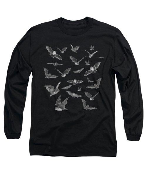 Bats Long Sleeve T-Shirt by Brian Wallace