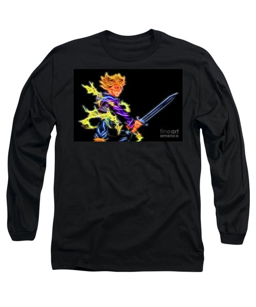 Battle Stance Trunks Long Sleeve T-Shirt