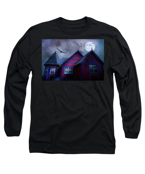 Long Sleeve T-Shirt featuring the photograph Battle Street West by Theresa Tahara