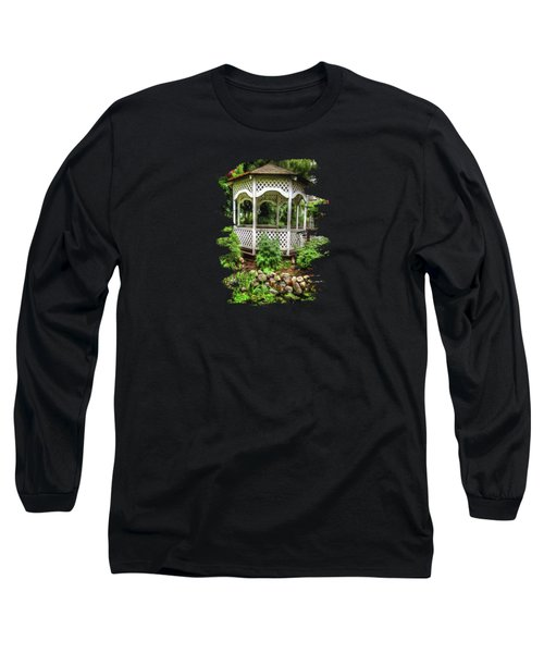 Bauman Farms Gazebo Long Sleeve T-Shirt