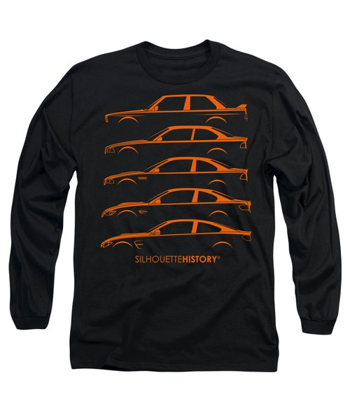 Bavarian M Three Silhouettehistory Long Sleeve T-Shirt