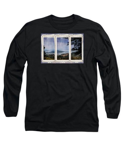 Bay Area Long Sleeve T-Shirt by Judy Wolinsky