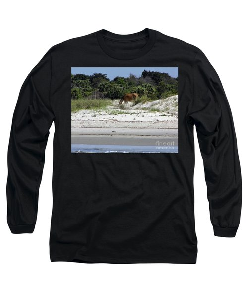 Bay At The Beach Long Sleeve T-Shirt