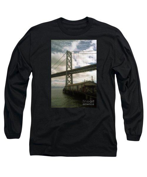 Bay Bridge San Francisco Waterfront Long Sleeve T-Shirt