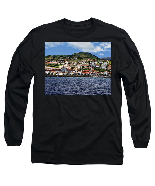 Bay Of Horta Long Sleeve T-Shirt
