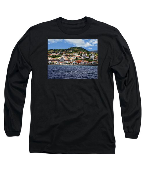 Bay Of Horta Long Sleeve T-Shirt