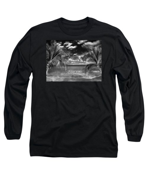 Beach Of Forgotten Colours Long Sleeve T-Shirt by Gabriella Weninger - David