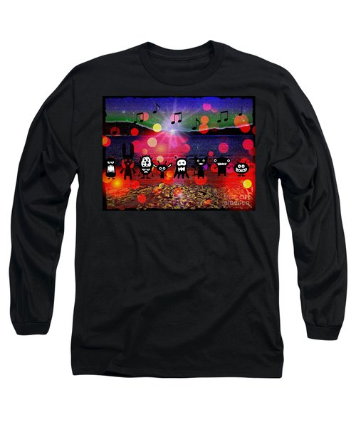 Beach Party Critters Long Sleeve T-Shirt