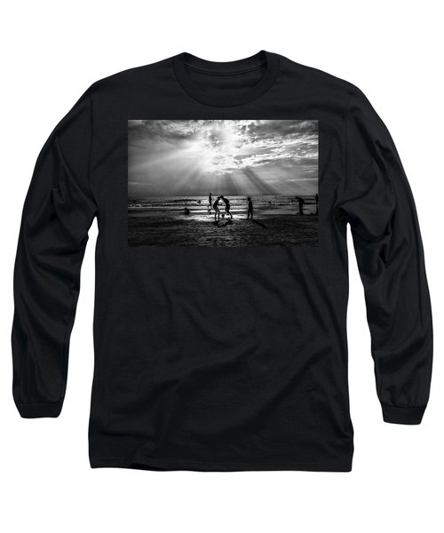 Beach Soccer Long Sleeve T-Shirt