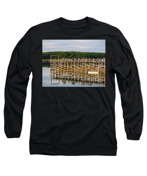 Beals Island, Maine  Long Sleeve T-Shirt by Trace Kittrell