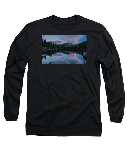Bear Lake Sunset Long Sleeve T-Shirt by John Vose