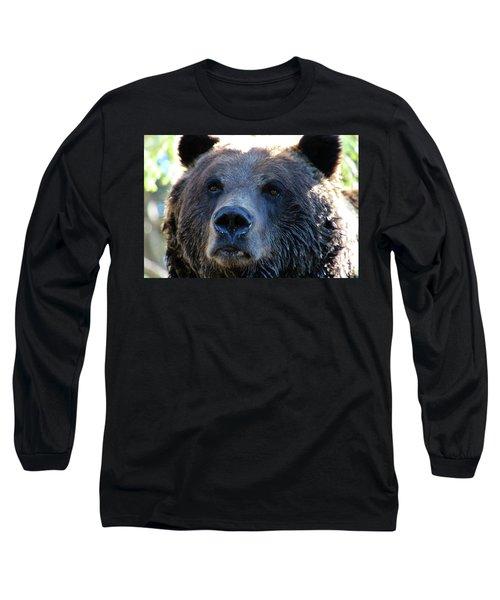 Bear On Grouse Long Sleeve T-Shirt