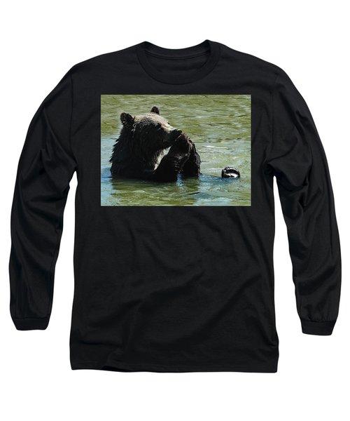 Bear Prayer Long Sleeve T-Shirt