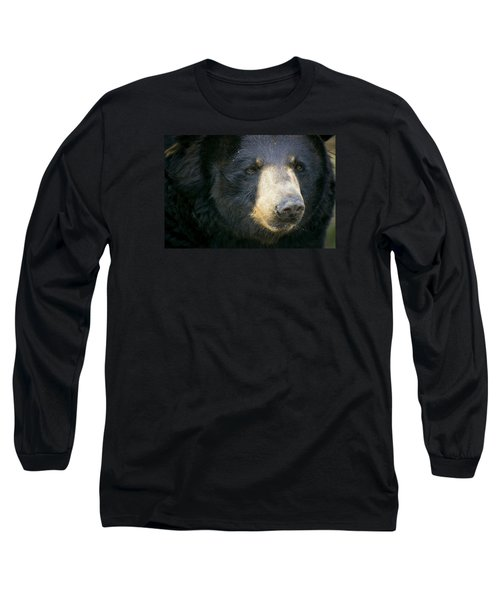 Long Sleeve T-Shirt featuring the photograph Bear With Me by Cheri McEachin