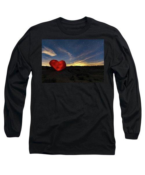 Beating Heart Long Sleeve T-Shirt