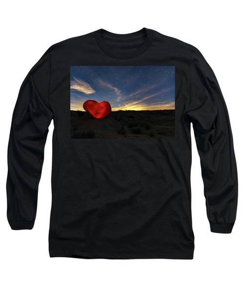 Beating Heart Long Sleeve T-Shirt