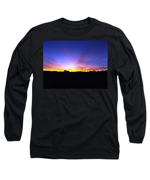 Beautifil Blue Long Sleeve T-Shirt