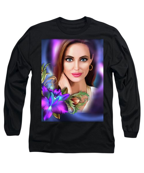 Beautiful Angie Long Sleeve T-Shirt