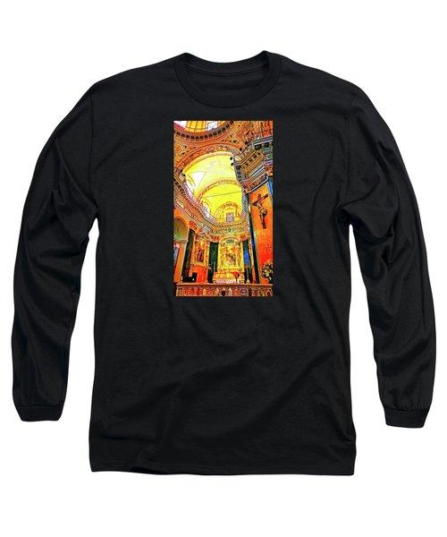 Beautiful Church In Nizza Long Sleeve T-Shirt