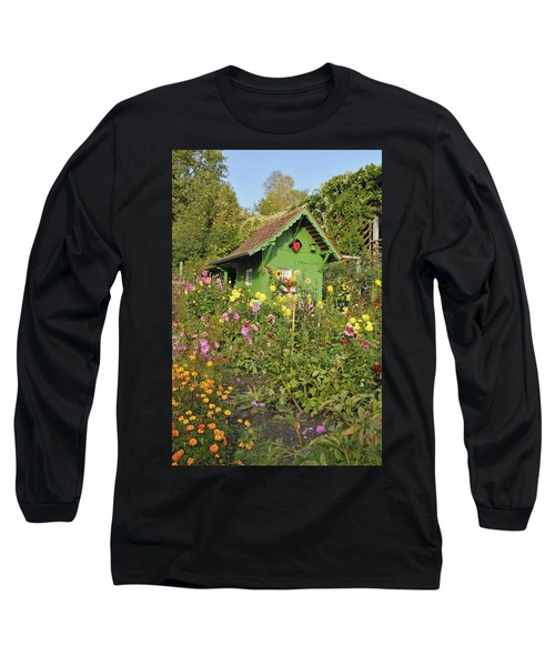 Beautiful Colorful Flower Garden Long Sleeve T-Shirt