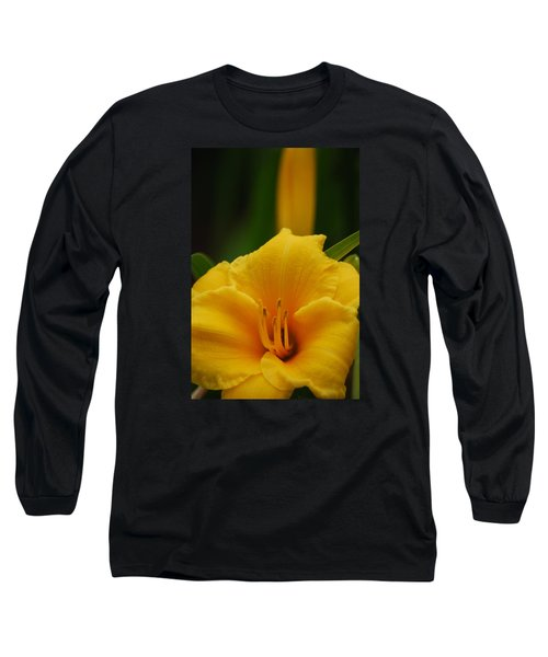 Long Sleeve T-Shirt featuring the photograph Beautiful In Yellow by Ramona Whiteaker