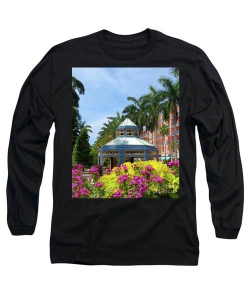 Beautiful Mizner Park In Boca Raton, Florida. #3 Long Sleeve T-Shirt