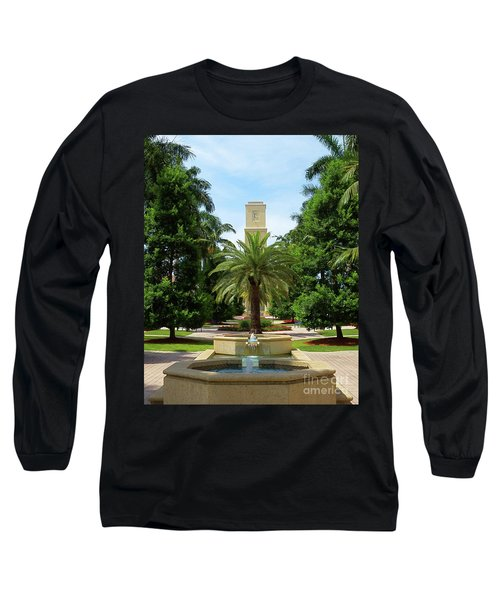 Beautiful Mizner Park In Boca Raton, Florida. #7 Long Sleeve T-Shirt