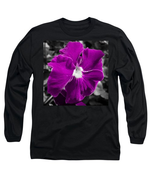 Beautiful Purple Long Sleeve T-Shirt