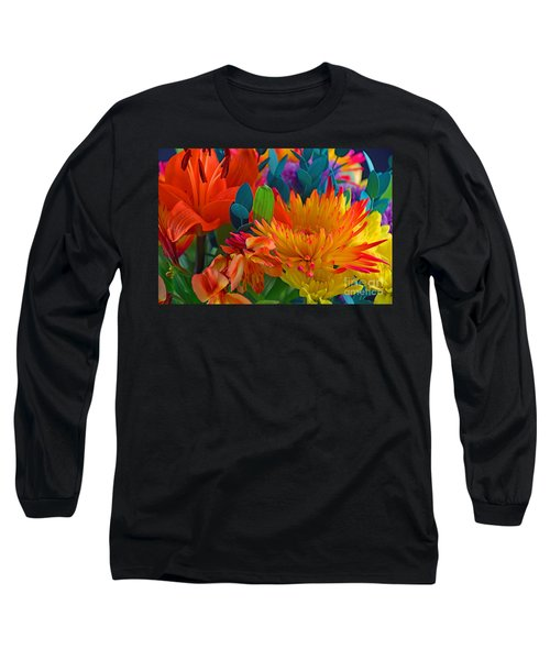 Beautiful To The Eyes  Long Sleeve T-Shirt by Ray Shrewsberry