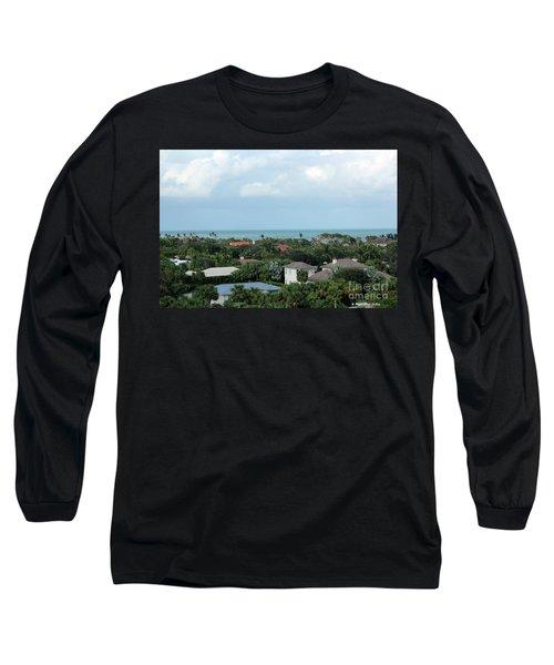 Beautiful Vero Beach Florida Long Sleeve T-Shirt by Megan Dirsa-DuBois