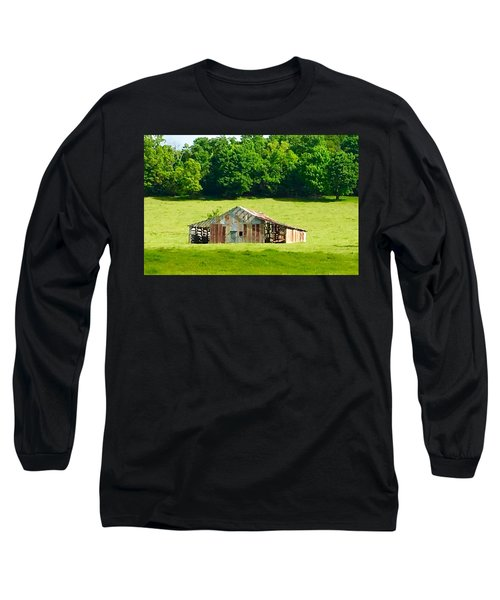 Beautifully Noble Barn Long Sleeve T-Shirt